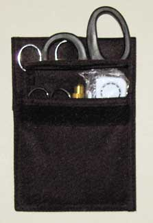 Deluxe Rescue Holster Set Filled Black