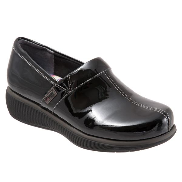 GRAYS ANATOMY CLOG PATENT BLACK