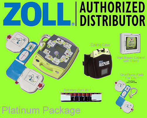 ZOLL  AED PLUS platinum package